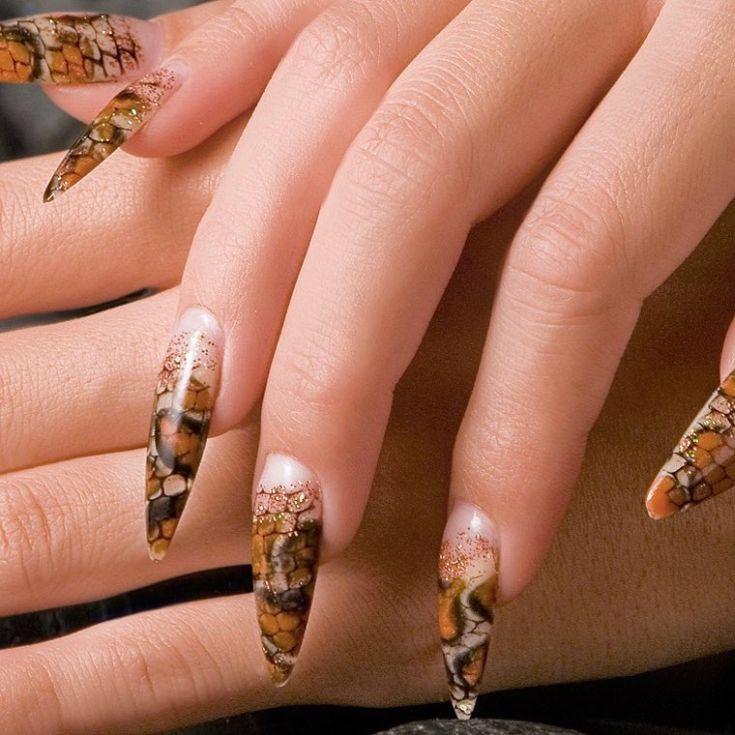 Snake Skin Nail Art polish