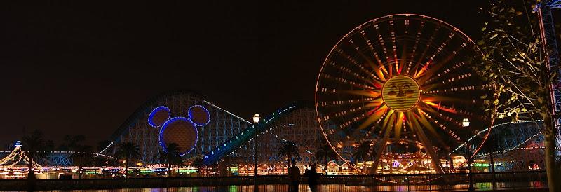 Paradise Pier panorama, Disney's California Adventure