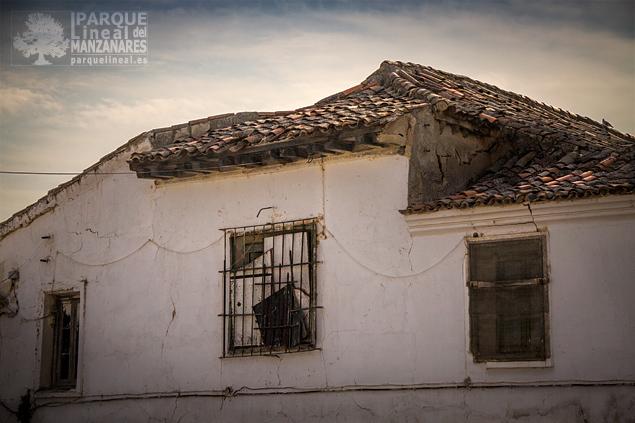 Detalle de la casa de Gózquez de Abajo.