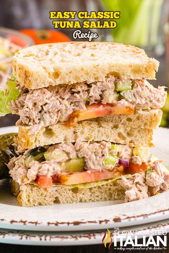tuna salad recipe sandwiches