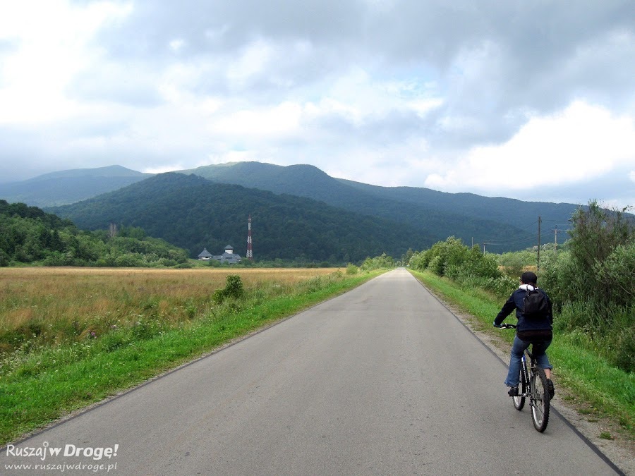Na rowerze w Bieszczadach