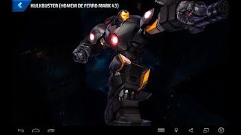 Hulkbuster (Homem de Ferro MARK 44) - Armadura Pesada