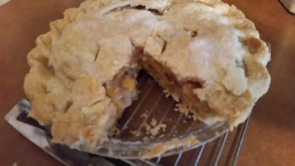 Peaches And Plum Pie Recipe