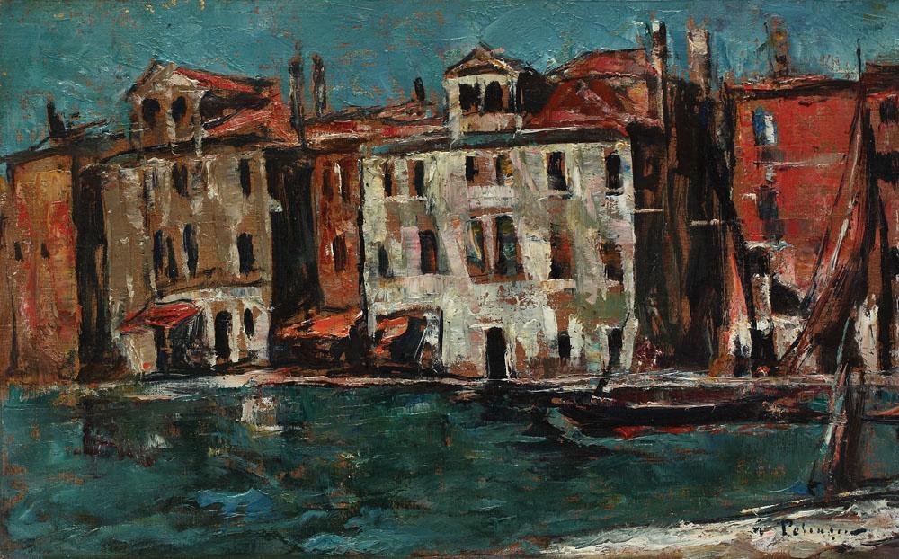 Gheorghe Petrașcu - Case la Chioggia