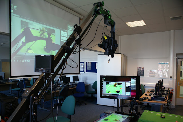 Photography with PixelSense, Canon 600D, a Jib, TV, & Projector