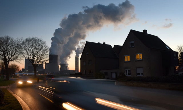 Steam rises from cooling towers at the RWE Niederaussem coal-fired power plant near Bergheim, Germany. Current EU proposals are 'not consistent with what was agreed in Paris'. Photo: Volker Hartmann / Getty Images