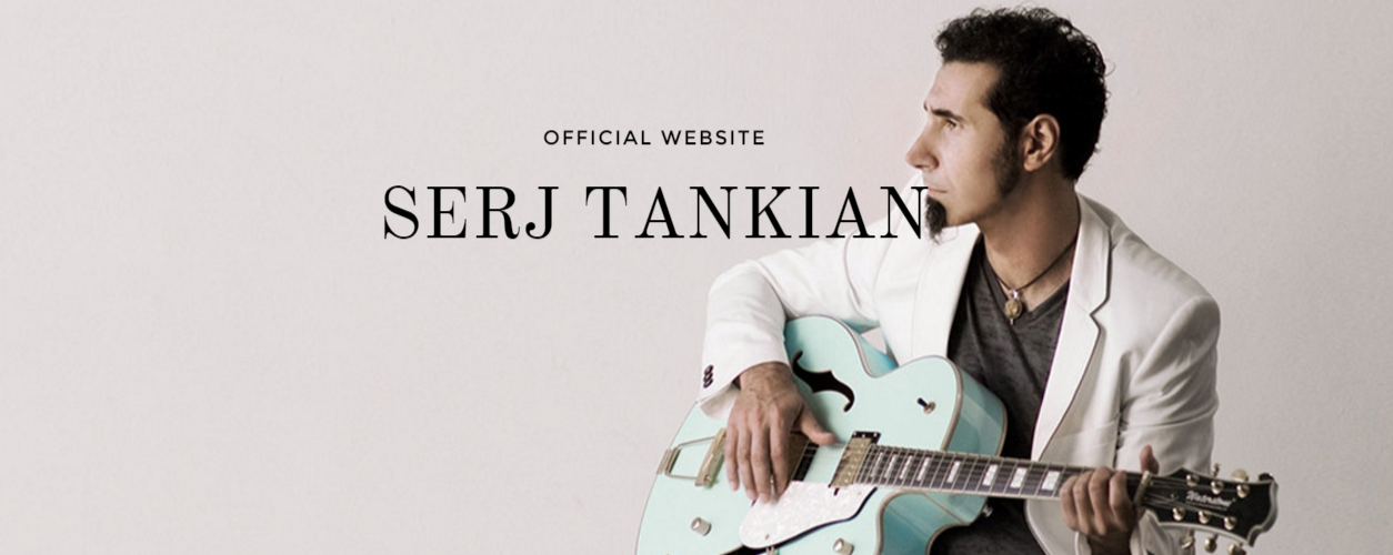 Serj Tankian lança seu novo site reformulado