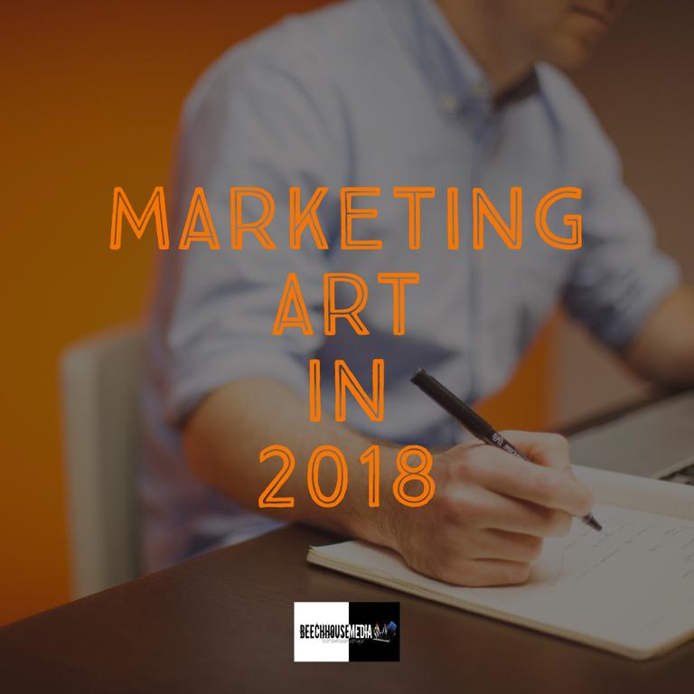 marketing art in 2018