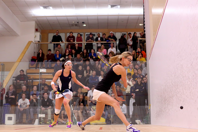 Trinity's Julia Le Coq and Harvard's Michelle Gemmell