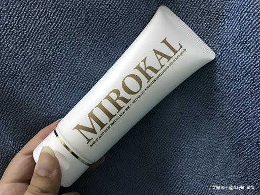 Facial cleanser-MIROKAL米羅蔻胺基酸深層潔顏霜,溫和潔顏,找回肌膚的綺肌時刻!大馬士革玫瑰的香氣很高級~