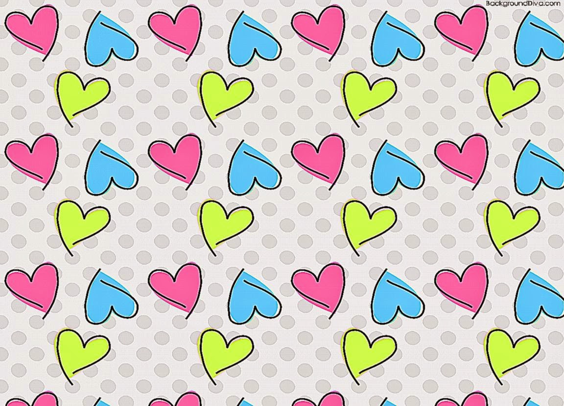 girly wallpapers for computermore girly hearts desktop wallpaper