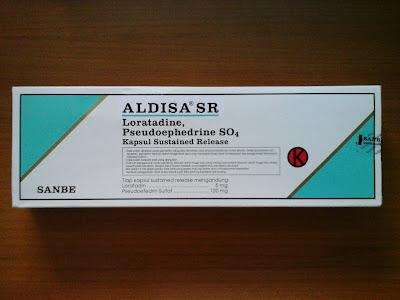 Aldira SR | Loratadin, Pseudoefedrin