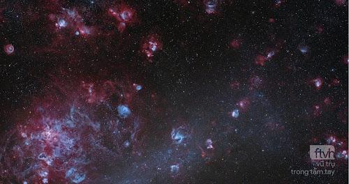 Những đám mây nhỏ trong Đám mây Magellan Lớn