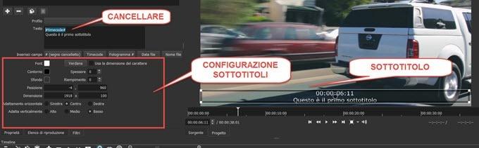 configurazione-sottotitoli