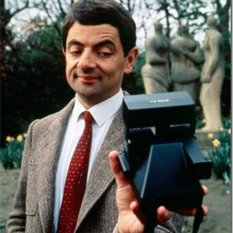 El inventor de las Selfies fue Mr Bean
