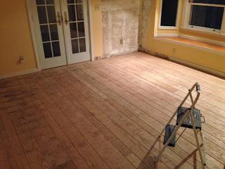 raw floor