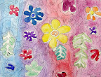Water Color Flowers by Jane