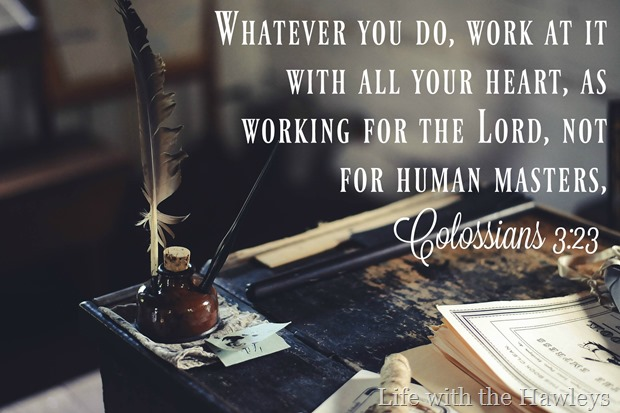 Colossians 3-23