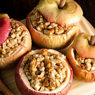 Apple Pie Baked Apples.