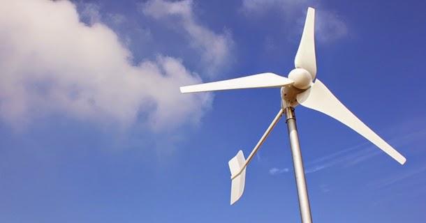 德化國小頂樓設置2KW風力發電機