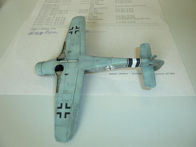 Focke Wulf Fw 190 D-9 - Academy - 1:72 - FINALIZADO! P1030485