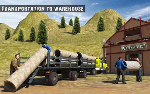 USA Truck Driving School: Off-road Transport Games 1.10 screenshots 11