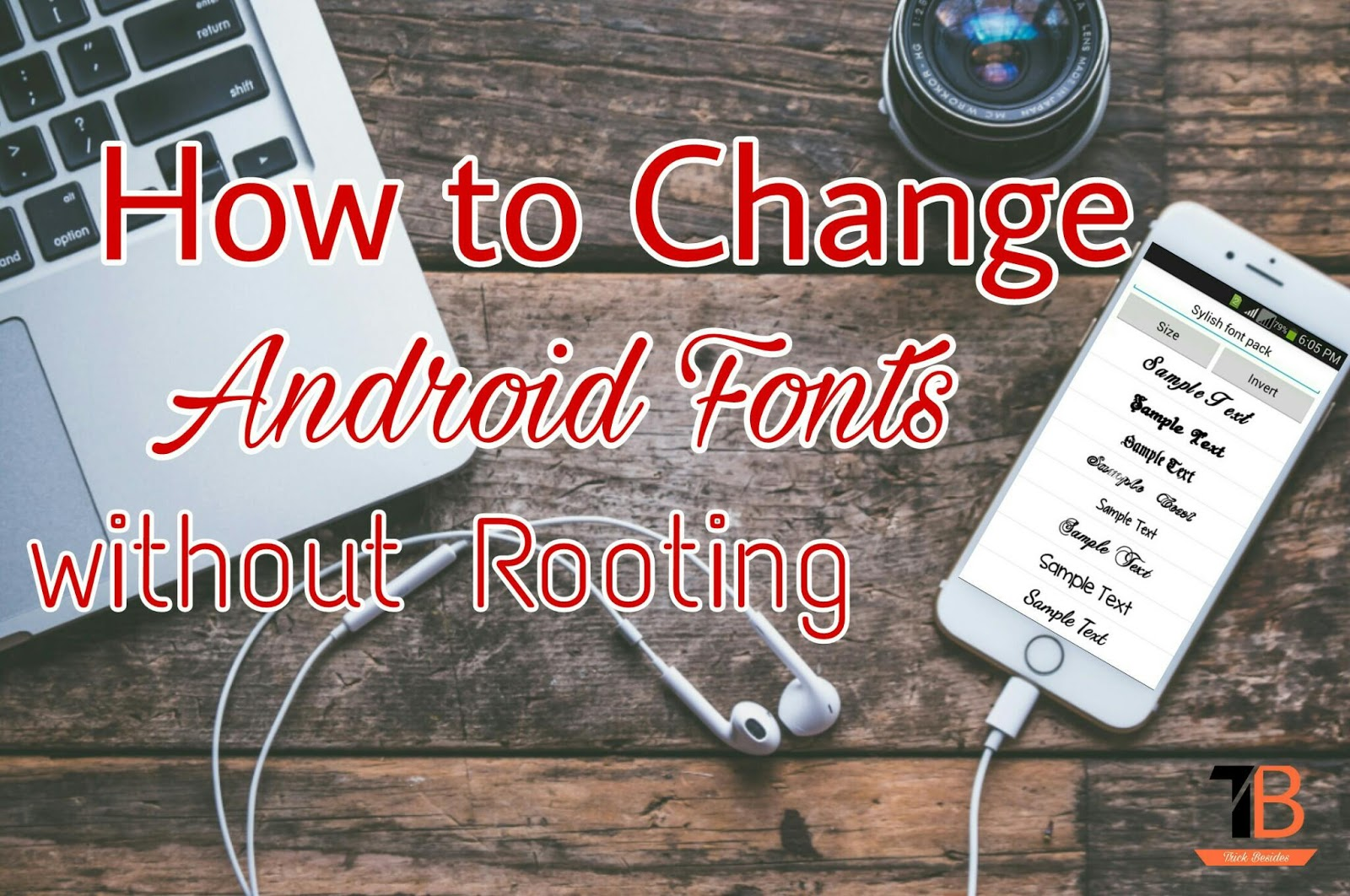 How to Change Android Fonts Easily without Rooting