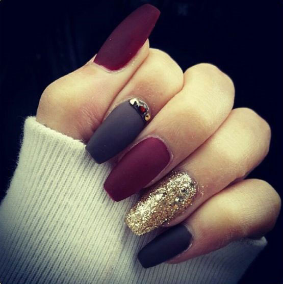 Latest Matte Nail Designs You Will Love 1