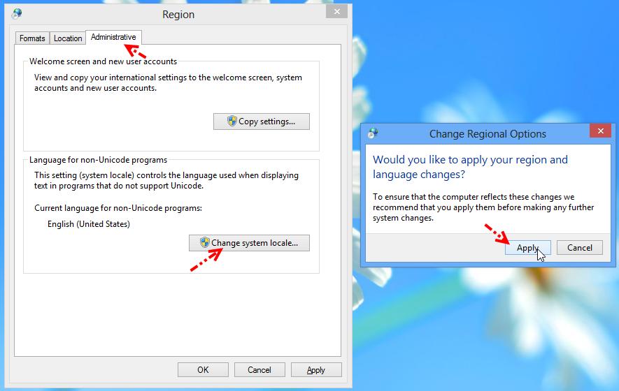 การเปลี่ยน Region Language บน Windows 8 ให้เป็นประเทศไทย W8lang05
