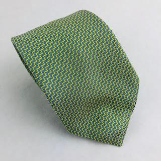 Hermès ZigZag Tie