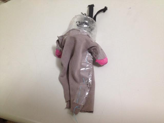 波妞的第一個布袋戲布偶