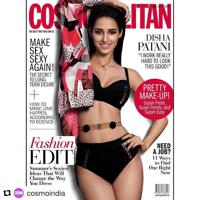 Disha Patni Cosmo India Cover Page