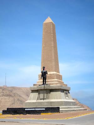 War memorial in Lima Peru
