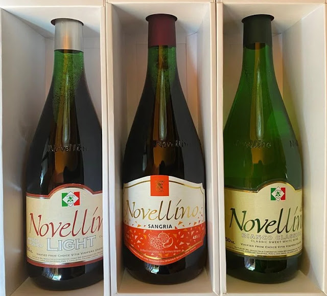 Three bottles of Novellino Wines