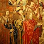Château d'Ecouen : pavillon d'Abigaïl, tapisserie Histoire de David et Bethsabée