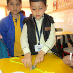 Toran Making Activity (Sr.KG.) 12-2-2016