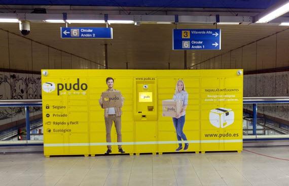 Metro instala 9 consignas para recogida de compras a través de Internet