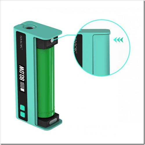 smok quantum 80w tc box mod 1%25255B7%25255D - 【海外】SMOKのVTC Miniっぽいワイヤレス対応「Smok Quantum 80W TC Box Mod」3本バッテリー「Smok Koopor Primus 300W TC Box Mod」他