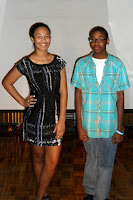 Julian Byrd scholarship recipients: Taylor Mitchell and Cory McClure