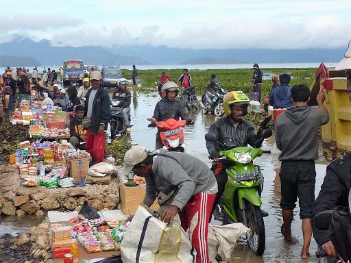 Рынок в Новой Гвинее