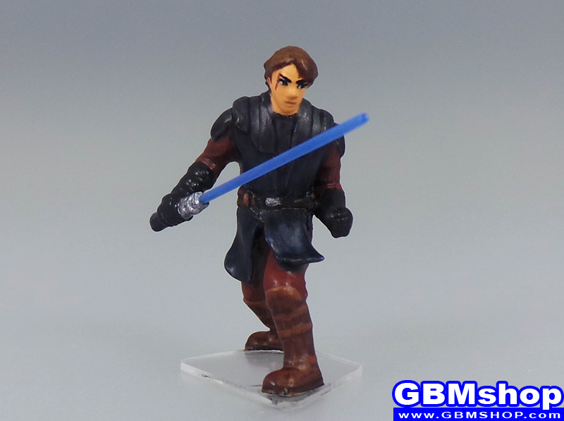 star wars miniature Imperial Assault Anakin Skywalker, Jedi #1/6 from Clone Wars Map Pack Star Wars Miniatures Custom Customize and Painting