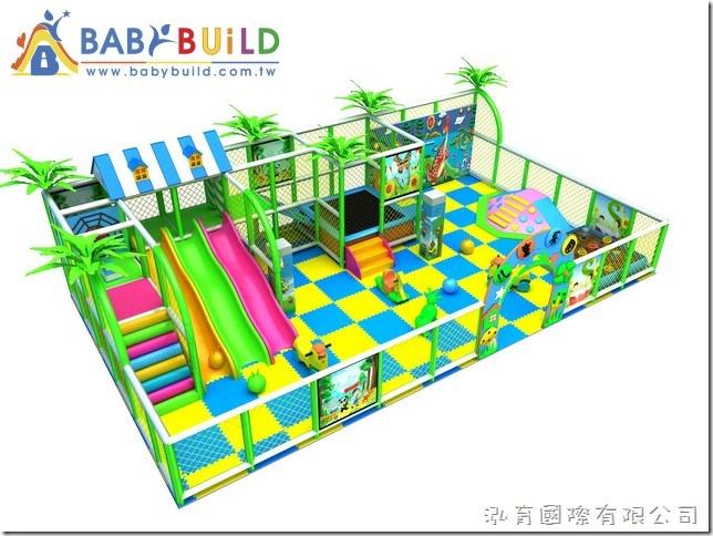 BabyBuild 3D泡管遊戲設施