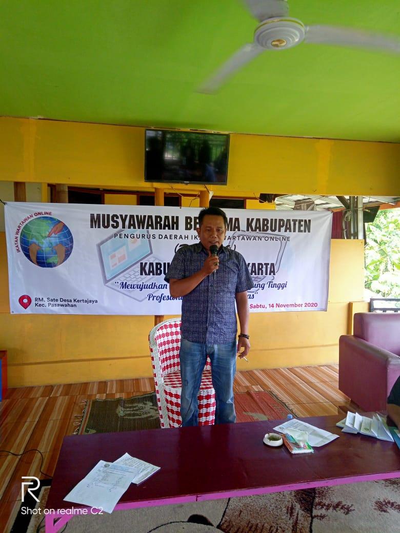 Sekertaris MOI Jawa Barat Berikan Ucapan Selamat Kepada Dodi Budiarsyah Terpilih Ketua IWO Purwakarta