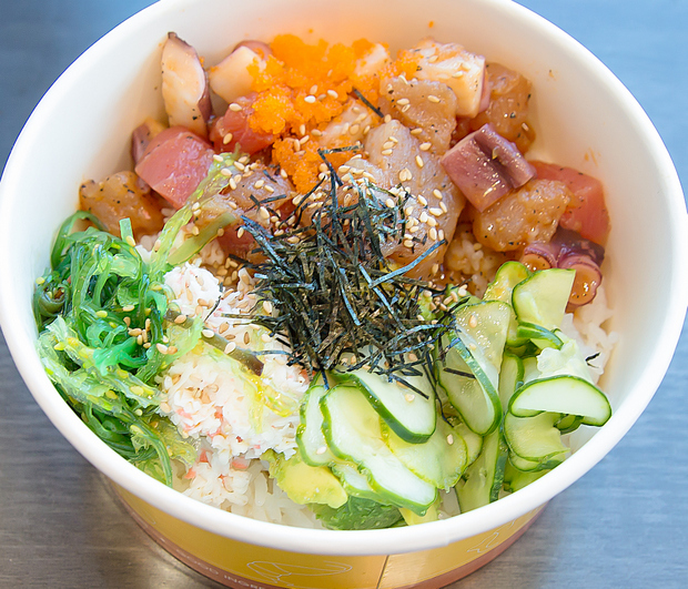 photo of another poke bowl