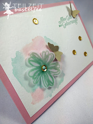 Stampin' Up! - In{k}spire_me #237, Color Challenge, Flower Shop, Aqua Painter, Butterfly, SAB Hoch hinaus, SAB Sky is the Limit