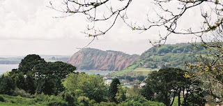 View over Sidmouth, taken from Salcombe Regis Hill
