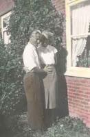 Groeneweg, Cornelis en Kooij, Geertruida januari 1957.jpg