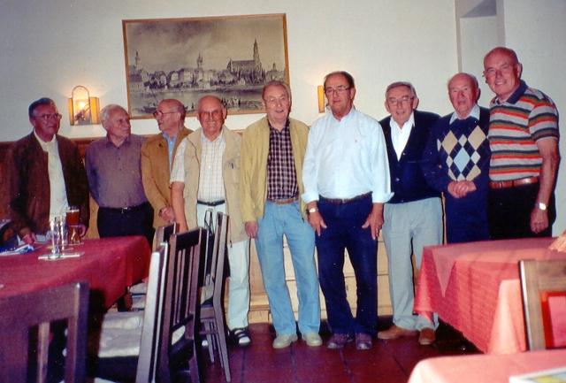 """""""Oldie-Club"""" des TTC Straubing"""
