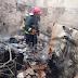 Incêndio destrói Casa Paroquial em cidade do Sertão paraibano