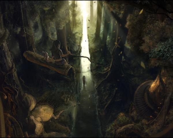 Dream Of Landscape, Fantasy Scenes 3